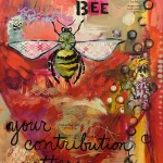 Donna Estabrooks - bee totem