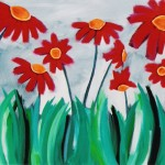 Donna Estabrooks - Flowers in a Field
