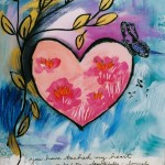 Donna Estabrooks - Heart with Butterfly