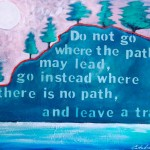 Donna Estabrooks - Leave a Trail