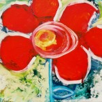 Donna Estabrooks - Red Flower