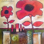 Donna Estabrooks - two Poppies