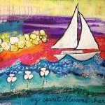 Donna Estabrooks - my spirit blossoms here
