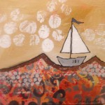 Donna Estabrooks - sailing in a boat named Joy