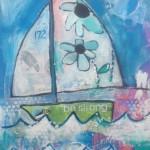 Donna Estabrooks - Sailboat