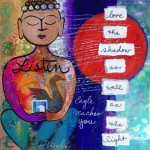 Donna Estabrooks - Buddha listens to Eagle