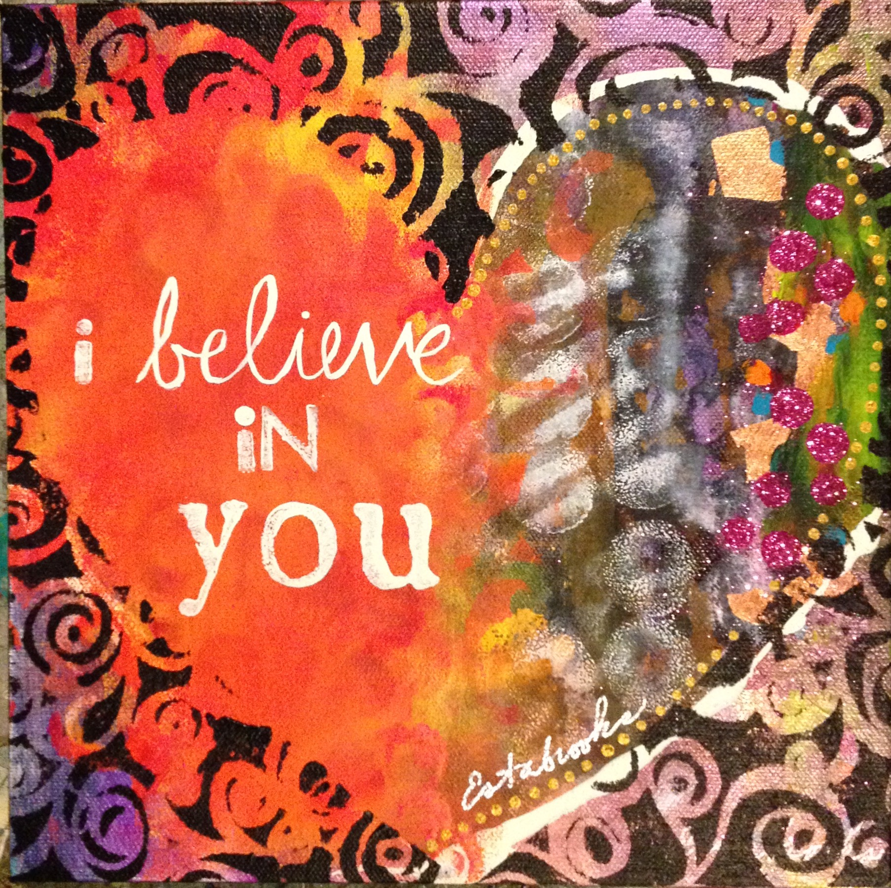 i believe in you donna estabrooks