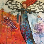 Donna Estabrooks - An angel protects my home